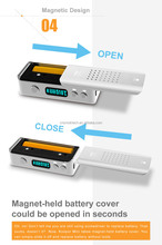 newest 60W V/W smart ecig box Koopor mini made from 304 stainless steel working with replaceable 18650 battery