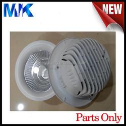 top selling in Canada Market 15watt grey heatsink shell Die Cast Aluminum 4inch cob led downlight housing