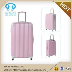 """20"""" Spinner Carry-On Suitcase, Cartoon Characters Hybrid Luggage"""