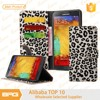 BRG Leopard PU Leather Wallet Case With Credit Card Holder For Samsung Note 5 Case ,Phone Case For Samsung Note 5