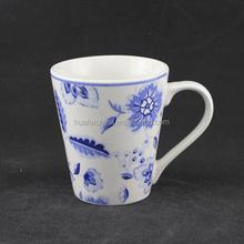 mugs direct from china, blue and white porcelain mug, stoneware hand painted mug