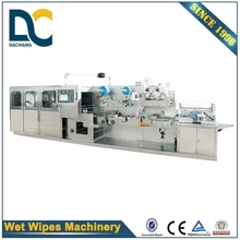 Full-auto high efficiency wet wipe machine baby Wet Wipes Production Line