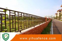 powder coated aluminum fence post