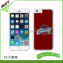 Hotsale multi phone Cases Cleveland Cavaliers hard PC Case Mixed colors black and white for phone 6/iphone 6 plus