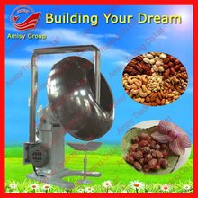 2012 BEST peanut coating machine with heating plate and fan