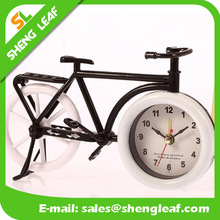 Bike cool designed artistic clocks classical plastic bike alarm clock