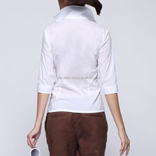 Moderna modelos calientes de la venta elegante blusa