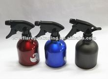 2014 new design and lowest price Aluminum hair /hand spray bottles