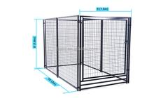 Large outdoor modular dog kennel kennels for dog/iron fence dog kennel/dog kennel fence panel
