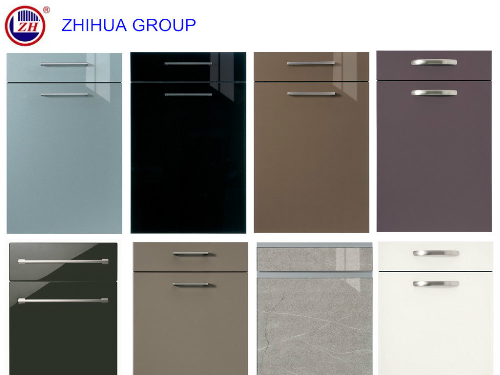 Scratch Resistant High Gloss Acrylic Kitchen Cabinet Door