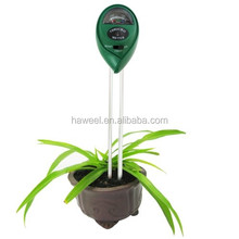 3 in 1 Plant Flowers Soil Meter (PH + Moisture + Light)(Green)