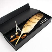 Feather pen,wedding decoration Owl feather pen for sale