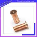 Cnc de mecanizado de latón/acero inoxidable/aleación/cobre/de aluminio al vacío limpiador de partes
