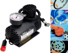Mini 12V 250PSI Air Compressor Tire Inflator Tool for Car Use