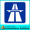 Professional Road Highway Safety Aluminium Traffic Sign