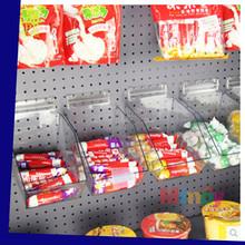 Clear Plexiglass Candy Storage Box Mini Clear Acrylic Supermarket Wall Mounted Candy Storage Box