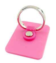 Eco-friendly material 360 degree rotation sticker mobile phone ring stand for smart phone