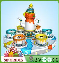 Attractive amusement park rides coffee cup rides