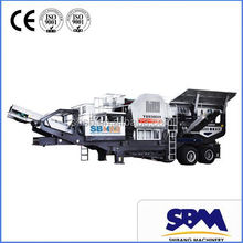 SBM German technical mining portable jaw crusher cote d'ivoire