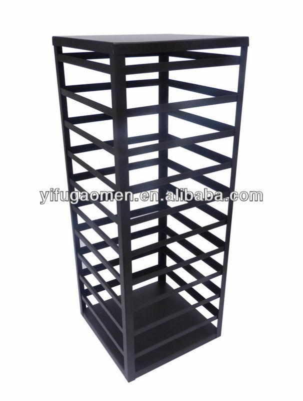 flooring stand rotating metal jewelry display rack design
