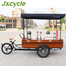 CE 2015 best price electric cargo bike new coffee tricycle for sale