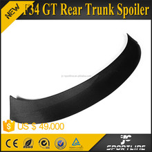 Real Carbon Fiber Material GT Rear Trunk Spoiler for BMW F34 3 Series GT Hatchback 2013 up