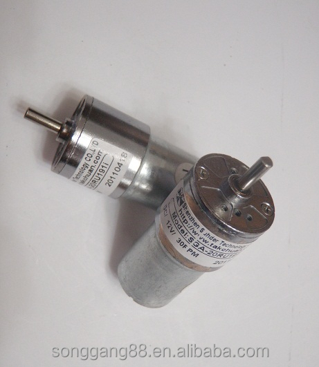 Pmdc Gear Motor 6v 12v Brushless Dc Geared Motor