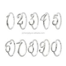 Personalized rings friend rings little finger rings