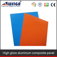 Alusign 4mm honeycomb fiberglass aluminum composite panel