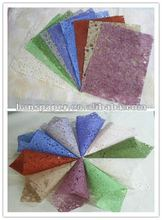 Natural abaca fiber paper for wrapping flower and gift