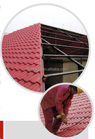PVC roof tile/spanish roof tile/Recyled green Roofing tile