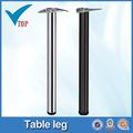 aço cromo perna de mesa para mesa de vidro