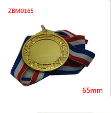 wholesale 65mm gold blank sport medals factory price cheap blank sport medals