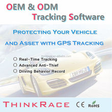 Real Time gps gsm software platform More Than 20 Language Versions/mobile phone tracking software/tracking system by Thinkrace
