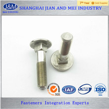 DIN604 M5 Carbon Steel Zinc Plated Carriage Bolt