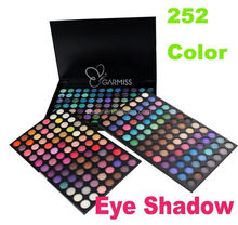 flower shape eyeshadow Professional 252 Color Makeup Eyeshadow Palette