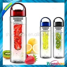 2015 new product tritan water fruit infuser bottle with bpa free