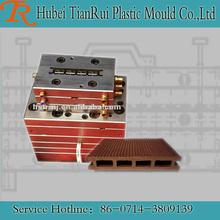 Decorative Extrusion Plastic Wood Mold Calibrator Floor Board