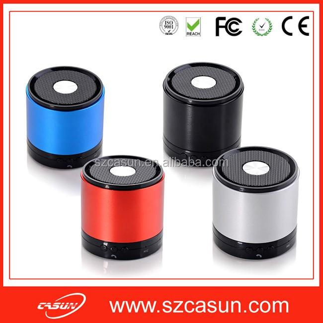 Manufacture prix de gros mini bluetooth haut-parleur très bien accueilli