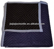 MOQ 100dozens economy moving blankets black best choice for one-time moves