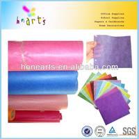 color organza rolls,flower wrapp fabric roll