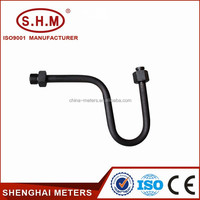 U-type syphon pipe for reducing temperature