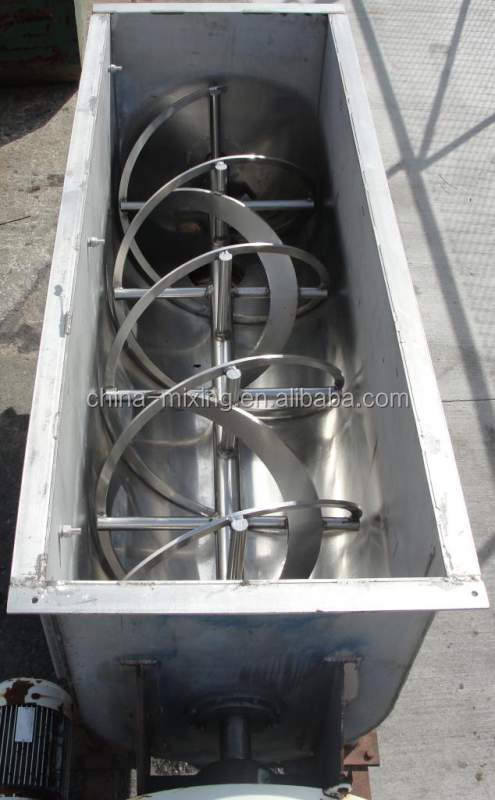 Stainless Steel Concrete Mixer : Lhy stainless steel ribbon mixer powder
