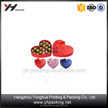 high quality empty chocolate boxes with PVC liner