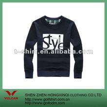 100 Cotton Casual Crew Neck Long Sleeve Men Sweater 2012