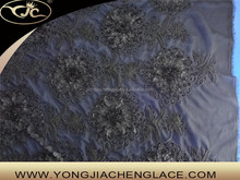YJC90028 Factory price china high quality cotton indian saree embroidery lace