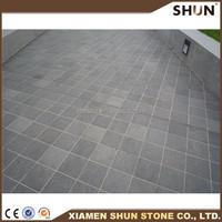 chinese basalt color basalt paving used for road