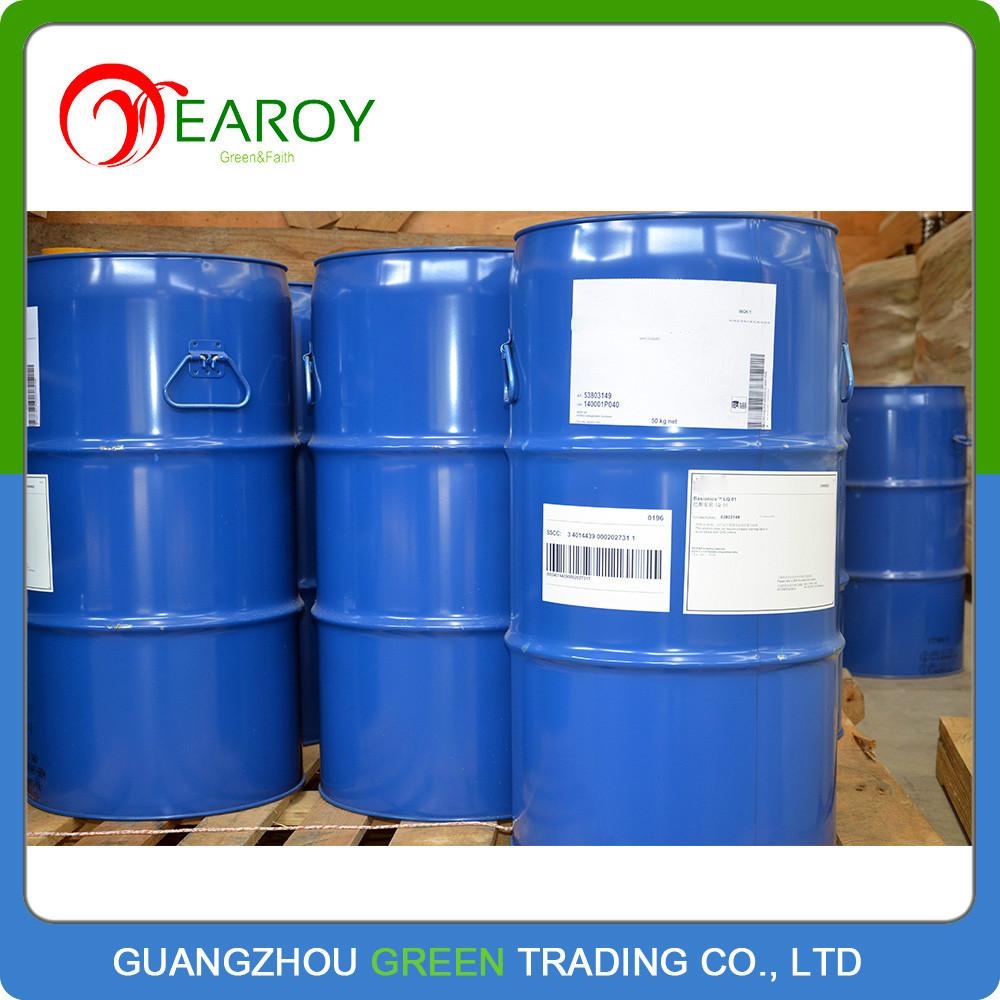 Liquid Hardener Floor : Liquid epoxy resin and hardener used in floor coating