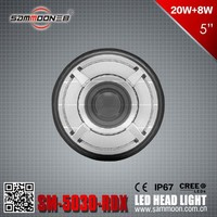 Sammoon 5 Inch Round LED Head Light,Auto Headlight_SM-5030-RDX