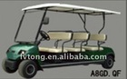 Verde elétrico estância turística car-8 lugares( a8gd. Qf) 48v/3.7kw